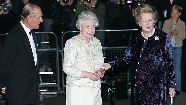 Margaret Thatcher and the Queen
